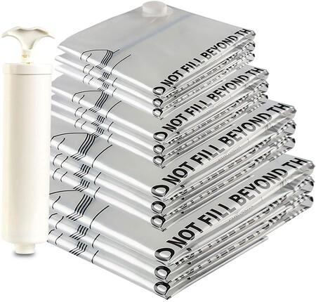 Paquete de bolsas de compresión al vacío