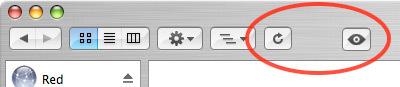 Truco: Personalizando la barra de herramientas de Finder
