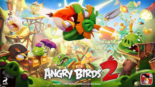 Angry Birds 2 Key Art
