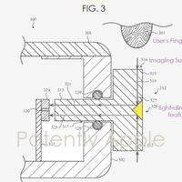 Una reciente patente muestra el Apple Watch con un sensor Touch ID en la corona digital