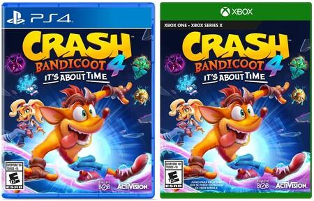 Crash Bandicoot 4 para Xbox y PS4 de oferta en Amazon México