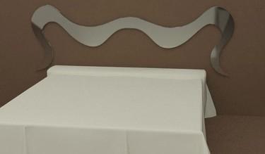 Ondas, el cabecero minimalista de Küpu