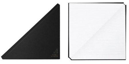 Cuaderno de notas triangular
