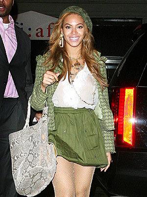 El imposible look de Beyoncé Knowles
