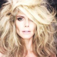Heidi Klum se muestra antes y después del maquillaje