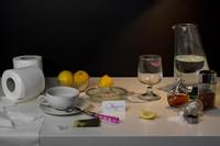 Dietas absurdas de famosos convertidas en bodegones artísticos