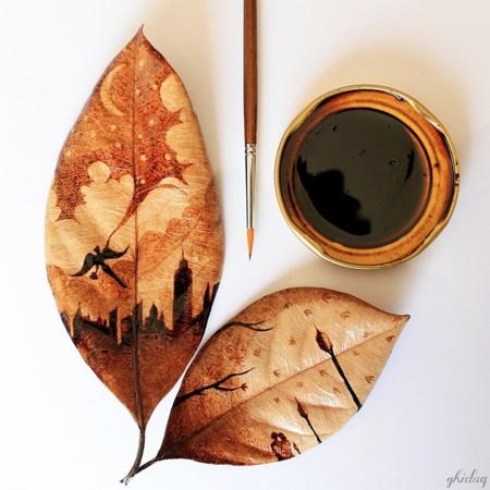 Esto es lo que pasa cuando los restos del café de la mañana te despiertan... la imaginación