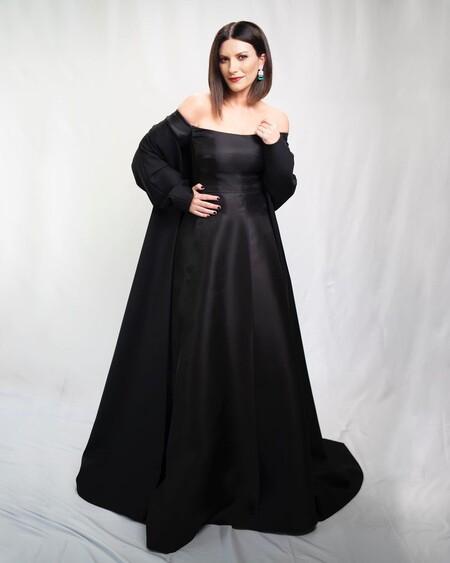 Laura Pausini Oscars 2021 Valentino 02