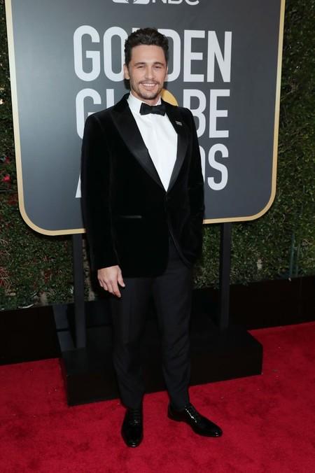 James Franco Se Enfunda En Terciopelo Para Los Golden Globes 2018 2