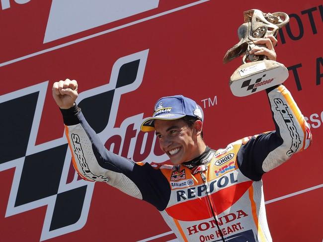 Marc Márquez, invicto en Alemania, buscará el noveno triunfo consecutivo en Sachsenring