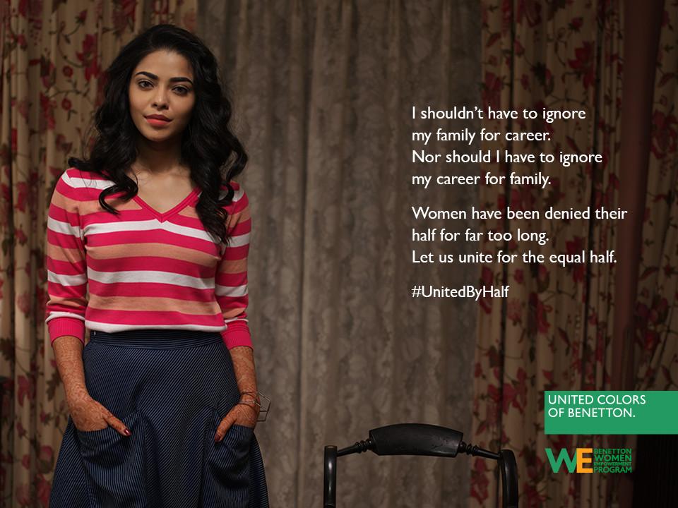 Foto de Hoy es Día Internacional de la Mujer y Benetton lucha por la igualdad entre hombres y mujeres (17/19)