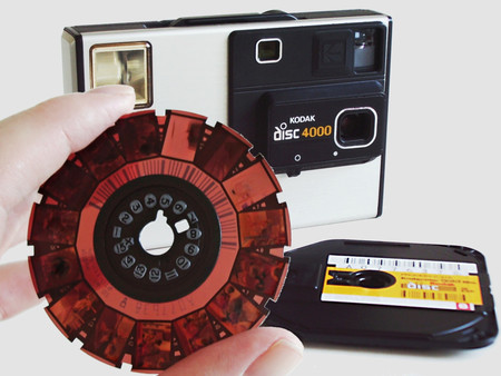 Así era el curioso formato Kodak Disc Film lanzado en los míticos años 80