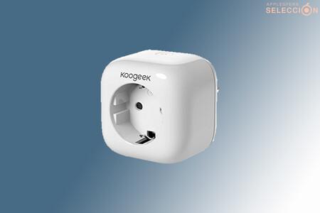 El enchufe de Koogeek compatible con HomeKit y Siri alcanza su precio más bajo en Amazon de 17,99 euros con este cupón