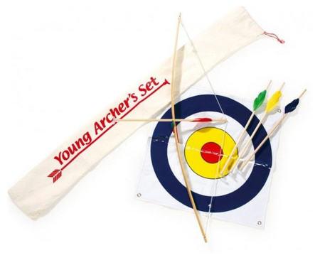 Un arco, unas flechas y mucha diversión para las tardes con amigos