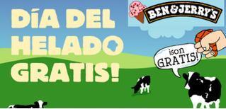 Día del helado gratis en Ben & Jerry's
