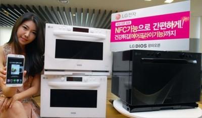 LG Dios, el nuevo horno microondas de LG con capacidades inteligentes