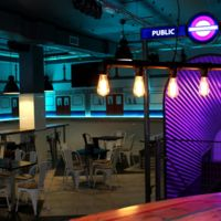 Piccadilly, un bar que se inspira en la red de metro londinense