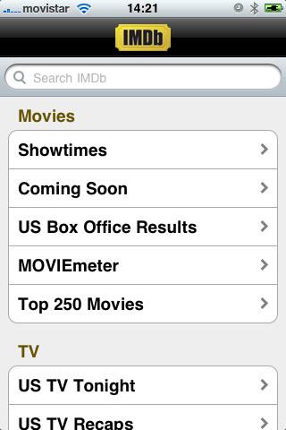 Foto de IMDb para iPhone (3/6)