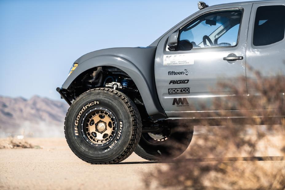 Foto de Nissan Frontier Desert Runner (1/22)