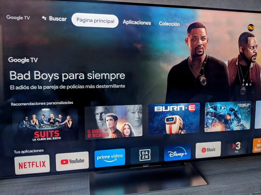 Cómo usar el mando a distancia de Android TV integrado en Google TV