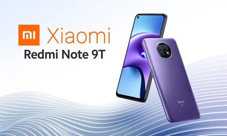 Entra en la velocidad 5G con el Xiaomi Redmi Note 9T por sólo 199,99 euros hoy, en Amazon