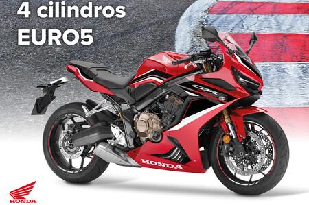 Las Honda CBR650R y CB650R se ponen al día con motor Euro5 y horquilla Showa Big Piston, para los mismos 94 CV