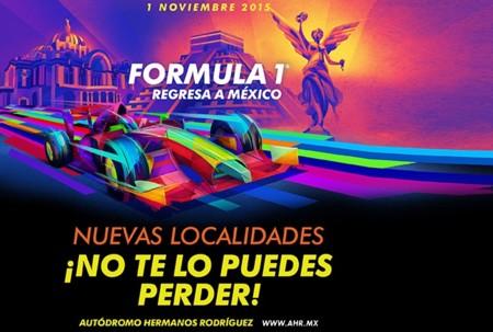 Para los que no alcanzamos, habrá más boletos para el GP de México a partir del 18 de junio