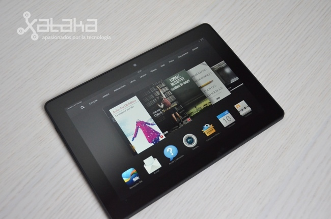 Foto de Amazon Kindle Fire HDX 8.9 (11/18)