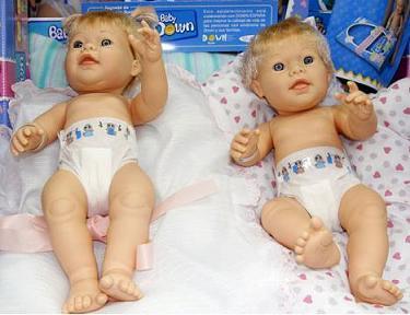 Baby Down, una muñeca con rasgos de Síndrome de Down