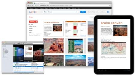 Google Drive ya está disponible para OS X y lo estará en unas semanas para iOS