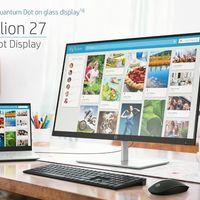 HP presenta nuevos monitores y en la corona, el nuevo Pavilion con tecnología Quantum Dot y soporte HDR