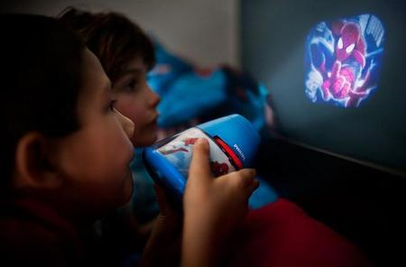 Lámpara proyector de Spiderman