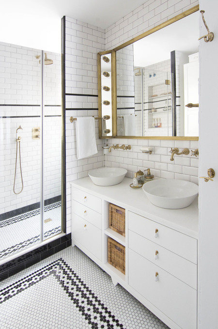 Study Project Bathroom Blank Space Image By Nina Anton Via Houzz