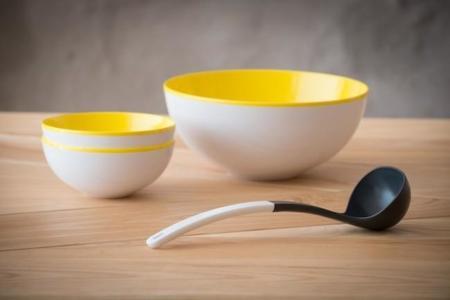 Flow Inside Out, una vajilla ideal para servir tus recetas y llenar de color tu cocina