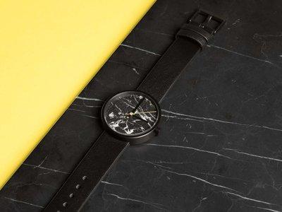 El reloj de mármol de la australiana AÃRK Collective