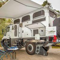 EarthCruiser Australia Unimog Explorer XPR440, la camper que hará palidecer al Volkswagen California XXL