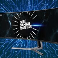 Un bestial monitor gaming como el Samsung C49RG90 lleva 149 euros de rebaja en PcComponentes y te ofrece 49 pulgadas QLED ultrawide