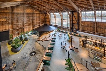 Googles New L A Office By Zgf Architects In California Concrete Floor