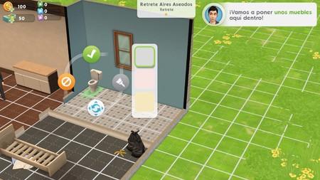 Los Sims Ios Amueblando