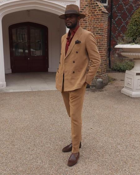 Tan Suit Men Street Style Beige Trendencias Hombre 13