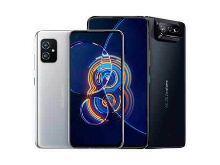 Nuevos ASUS Zenfone 8 y Zenfone 8 Flip: dos súper gamas altas con un formato compacto y un móvil con triple cámara rotatoria
