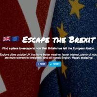 Y después del Brexit, ¿qué? Múdate a otra ciudad con ayuda de esta web