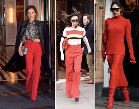 Victoria Beckham Estilismos Rojo 01