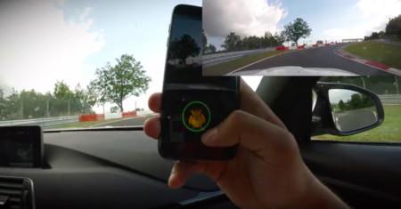 También puedes cazar Pokémons por el Nürburgring, si Boris no los ha pillado ya todos