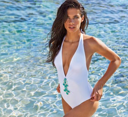 Calzedonia Verano 2015 Swimwear Bano Sara Sampaio 16