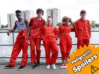 'Misfits', héroes británicos y adolescentes