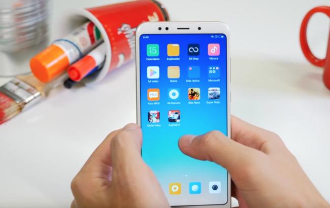 Xiaomi Redmi™ cinco Plus sistema operativo