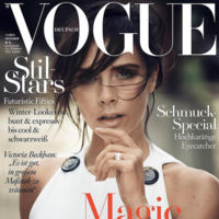 Victoria Beckham estrena portada de manera espectacular, el Vogue alemán se rinde a ella