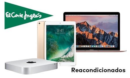 Reacondicionados Apple en El Corte Inglés: iPad, MacBook y Mac Mini a precios ajustados