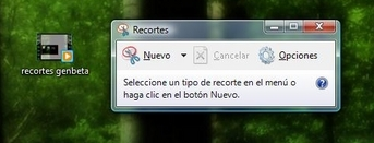 Windows Vista: usando Snipping Tool o Recortes